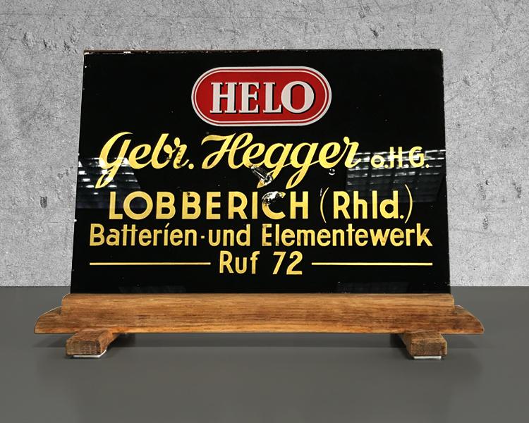 1921 Firmengründung Helo Gebrüder Hegger OHG