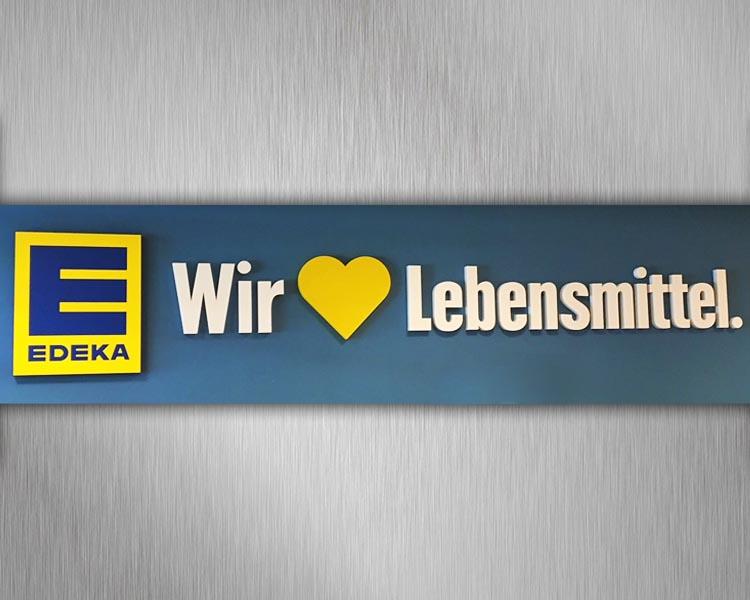 Filialumstellung Tengelmann zu Edeka Südbayern 2017 (90 Filialen in 3 Monaten im Innen-und Außenbereich umgerüstet) Image