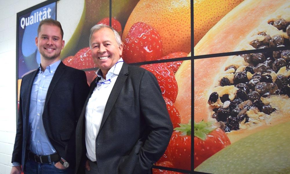 Wir sind ein Partner für die Zukunft! Sven Hegger übernimmt an der Seite seines Vaters die Verantwortung für Vertrieb und Marketing